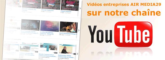 Films et vidéos d'entreprises sur le Finistère en bretagne