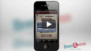 Vidéo de présentation Brest et Vous - application chasse au trésor