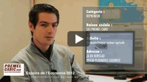 Vidéo de présentation CCI Morlaix - entreprise Premel Cabic