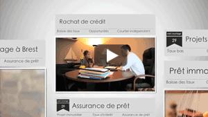 Vidéo de présentation du courtier en crédit West Courtage