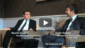 Vidéo interview ALSM Nouriel Roubini Brest
